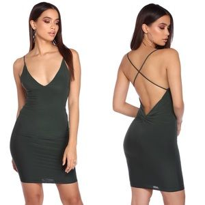 Windsor Gray Slick Moves Mini Dress
